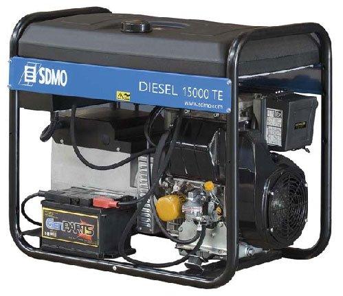 SDMO-Generator Diesel triphasé 12, 5kVA Diesel 15000TE XLC - Diesel-generatoren