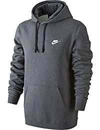 Nike Homme Vêtements de Sport Pull Over Sweat à Capuche Club – XXXL – Gris  Anthracite 146333c86a07