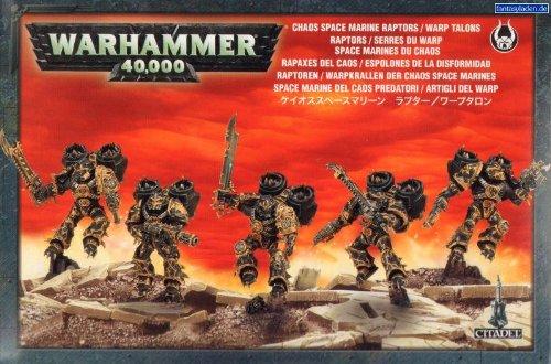 Games Workshop (GW) warhammer 40,000 chaos space marine raptors