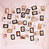 Ensemble de collages pour cadres de photo à assembler comprenant des cordes pour...