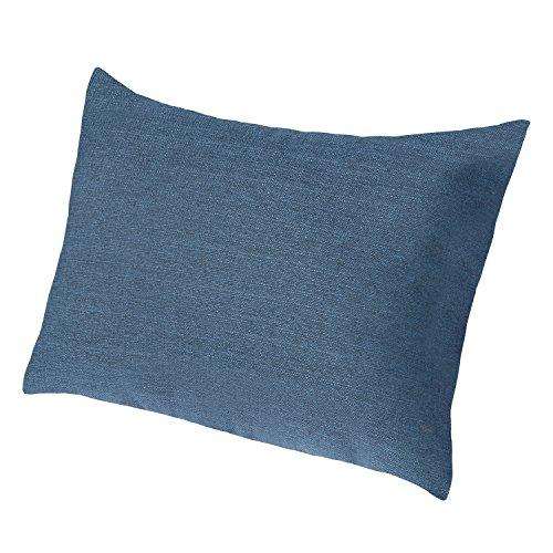 Extra großes Sofakissen von Salosan®. Lounge- und Rückenkissen, Kopfkissen, Dekokissen. Größe ca. 60x80 cm. Farbe: (Blau)