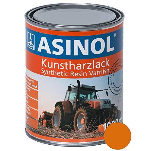 ASINOL RAL 2011 tieforange hochglänzend 1 Liter, 1.000ml Kunstharzlack