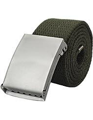 Herren Stoff Gürtel Stoffgürtel Bandgürtel Textilgürtel