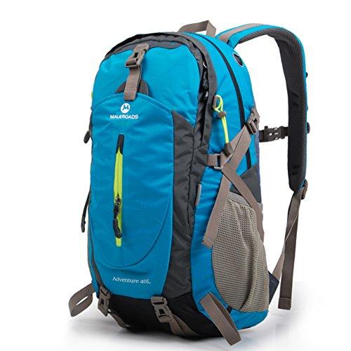 Borsa allaperto alpinismo/Uomini e donne zaino/Pacchetto trekking/Sport borsa zaino-Blue Lake 40L Blue Lake