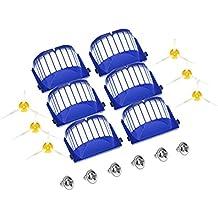 Gosear Filtros Cepillos Laterales Tornillos Kit de Repuesto Juego de Piezas para Robot Aspirador iRobot Roomba