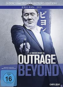 Outrage Beyond (3-Disc Limited Collector's Edition) - Blu-Ray, DVD + Bonus-Blu-Ray im Mediabook [Limited Edition]