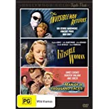 The Invisible Man Returns / The Invisible Woman / Man of a Thousand Faces Triple Pack (3 Discs) (PAL) (REGION 4) {IMPORT}