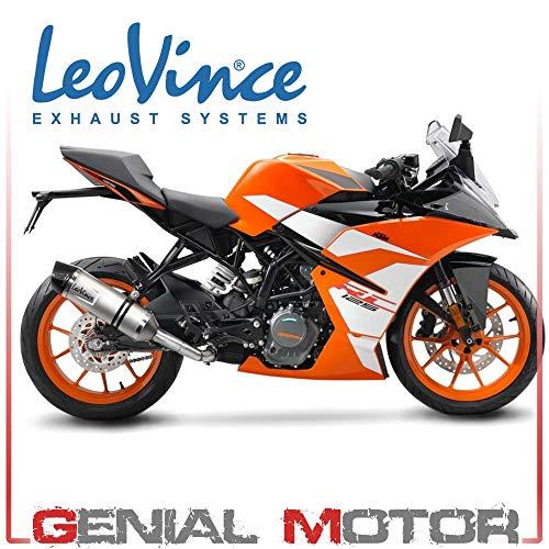 LeoVince KTM RC 125 2017 – 2020 Silber
