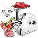 Nestling Hachoir à viande, Hachoir à viande électrique en acier inoxydable, Machine à Saucisse...
