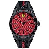 Scuderia Ferrari Homme Analogique Classique Quartz Montres bracelet avec bracelet en Silicone - 830248