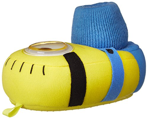 Despicable Me Minions Kids Stuart Sock Top Slippers
