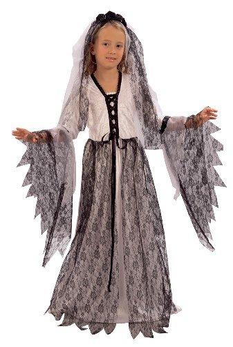 Kinder Halloween - 146cms L (Kinder Corpse Bride Kostüm)