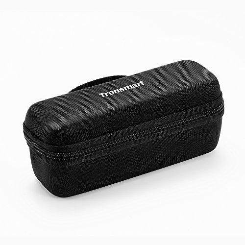 Tronsmart Étui Housse Haut-Parleur, Cas EVA de Transport pour Mega Enceinte Portable Bluetooth,Anti-poussière, étanche, étui de Protection Voyage avec Adapté au Câble USB