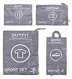 Pusher SPORT SET Sport Set, Nylon, Grigio,