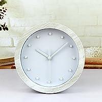 ZCLD Despertador 3D de Madera Perezoso Reloj de Escritorio de Escritorio Creativo de 12 Puntos.