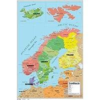 Suchergebnis Auf Amazon De Fur Skandinavien Karte Bilder