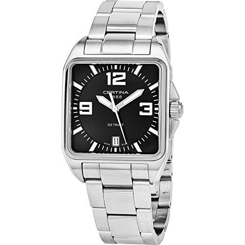 CERTINA Men's DS Trust 34MM Steel CASE Swiss Quartz Watch C019.510.11.057.00