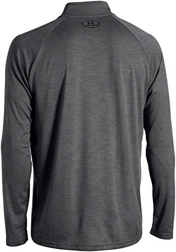 Under Armour Herren Fitness - Sweatshirts Fitness Sweatshirt Ua Tech 1/4 Zip Kohle Heidekraut