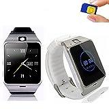 Excelvan GV18 - Smartwatch Reloj NFC Smartphone Libre 2G SIM (Cámara,...
