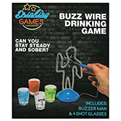 Idea Regalo - Buzz Wire Drinking Game by Drinking Games