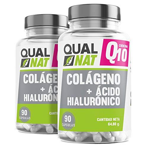 Colágeno   Q10   Ácido Hialurónico   Vitamina C   Reafirma tu Piel - PACK 2