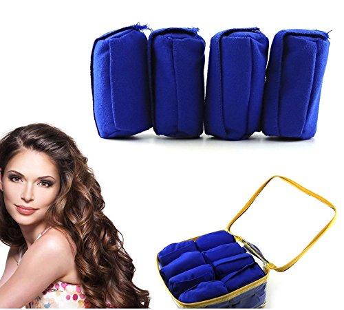 Lanlan 12 Stück Schlaf Haar Curls Rollers Nighttime Lockenwickler für alle Arten von Frisuren