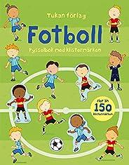 Fotboll : pysselbok med klistermärken