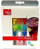 Vacu Vin Glas-Marker für Wein Flasche Cocktails Getränke Party Glas zur fossilienbestimmung