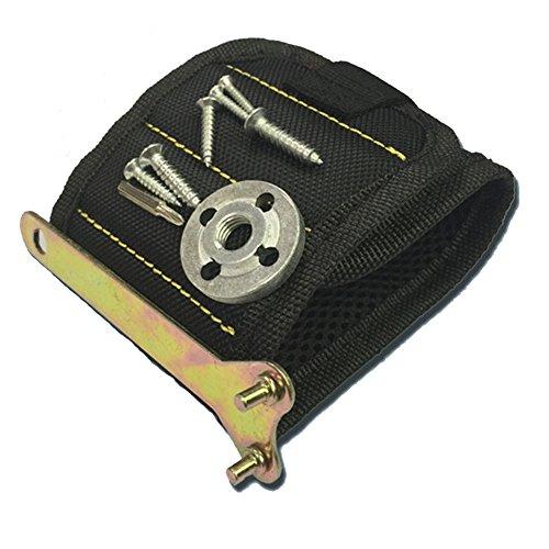ClubKing Ltd Armbänder, myfei Super Magnetisches professionellen Elektriker Werkzeug Tasche Magnet selbstklebend Handschlaufe für Heimwerker, Schreiner, Elektriker, Mechanik & Builders, 3Reihe Papier-armbänder Für Ereignisse