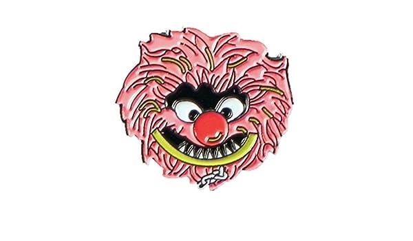 m/étal /émail Mainly Metal Broche Animaux du Muppet Show