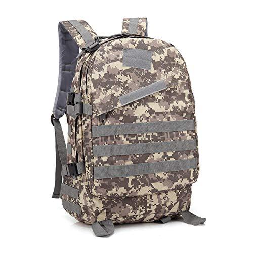 Aemax, zaino sportivo 3d mimetico militare, borsa multiuso impermeabile oxford, zaino tattico da uomo zaino esterno,d-38 * 51 * 18cm