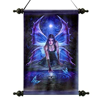 Design Toscano Immortal Flight Gothic Fairy Canvas Wall Scroll produced by Design Toscano - quick delivery from UK.