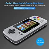 yestter Handheld-Spielekonsole Classic Video Gaming Player Tragbares Arcade-System Geburtstagsgeschenk Für Kinder Erholung 2,4