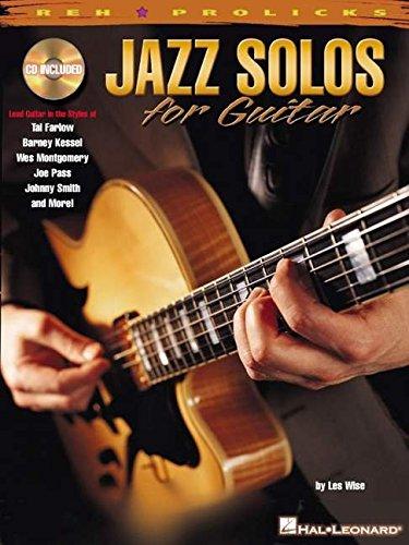Jazz Solos for Guitar (REH Pro Licks)