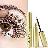 Wimpernpflege, LANDOR Lash Wimpernserum Natürlicher Extrakt Wimpern- und Augenbrauenwachstum Nährlösung Schnell wachsen lange dicke Wimpern