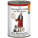defu Bio Hundfutter High Sensitive Rind Menü, 12er Pack (12 x 410 g)
