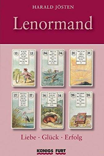 Preisvergleich Produktbild Lenormand - Liebe, Glück, Erfolg (Buch + 36 Lenormand-Karten)