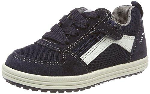 Geox Jungen JR VITA A Sneaker, Blau (Navy/White), 24 EU