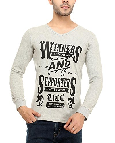 Leemarts Men's Cotton T-Shirt(WB03-L_Multicolor_Large)  available at amazon for Rs.299