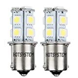 HOTSYSTEM 12V 1156 Ba15s Auto Lampen LED 13 SMD Blinker Bremslicht Weiß 2 Stück