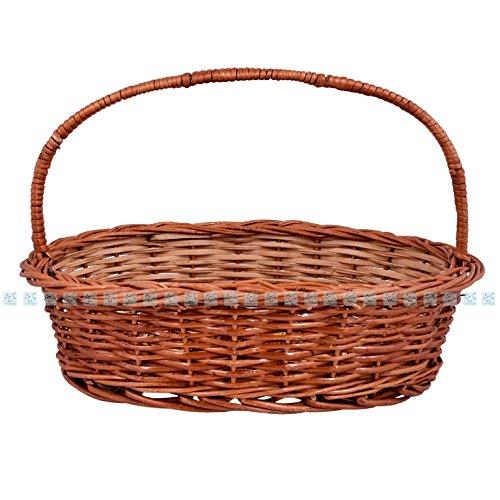 Jupiter Gifts and Crafts Cane Fruit Vegetable Basket