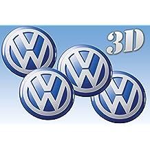 pegatinas rueda del emblema de Volkswagen de todos los tamaños (30mm.)