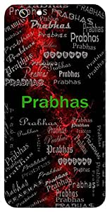 Prabhas (Brilliance, Light) Name & Sign Printed All over customize & Personalized!! Protective back cover for your Smart Phone : HTC one M-8 ( M8 )