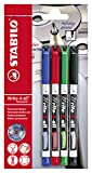STABILO Write-4-all sortiert Fein, 4er Blister - Permanent-Marker