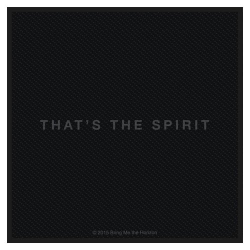 Preisvergleich Produktbild BRING ME THE HORIZON    THAT'S THE SPIRIT       Patch/ Aufnäher
