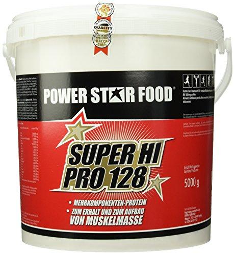 SUPER HI PRO 128, Top-Protein, 5000g Eimer mit Meßlöffel, Protein-Bestseller von höchster...