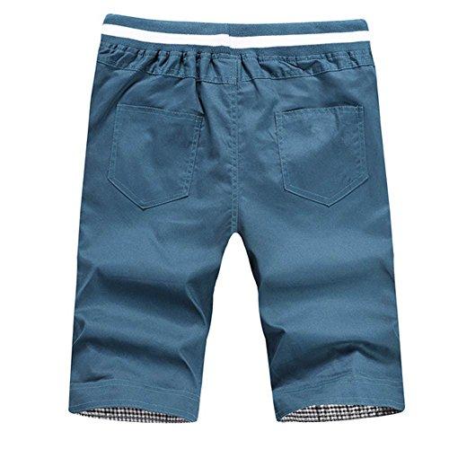 Uomo Bermuda pantaloncini estate Tooling pantaloni tempo libero Pantal sportivi