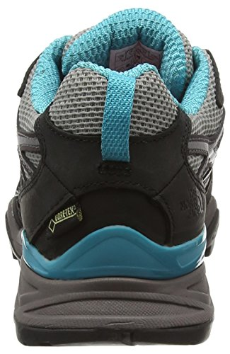 The North Face Damen W Hedgehog Hike GTX Sneakers Mehrfarbig (Steeplgy/Blubrd Gub)