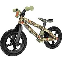 Chillafish BMXie-RS Army of Love Bicicleta de Aprendizaje, Unisex niños, Verde (