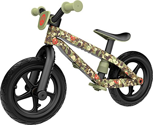 Chillafish BMXie-RS Army of Love Bicicleta de Aprendizaje, Unisex niños, Verde (Commander in Peace), Única
